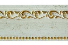 Багет №26 (Белый с золотом)