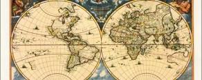 Как оформить карту или Оформление географических карт в деталях