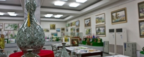 Творческая мастерская или место где можно написать и оформить картину