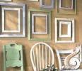Картинные рамы или рамки для живописи в интерьере