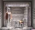 Типы оформления витрин магазина