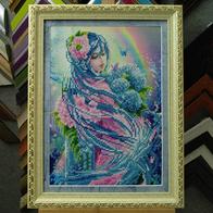 Рамка для бисерной картины №64 лимон
