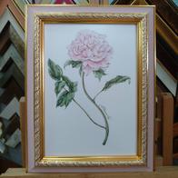 Рамка для рисунка на бумаге №24 розовый